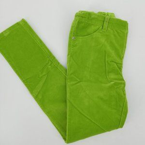Garnet Hills Kids Green Velvet Pants Size 12